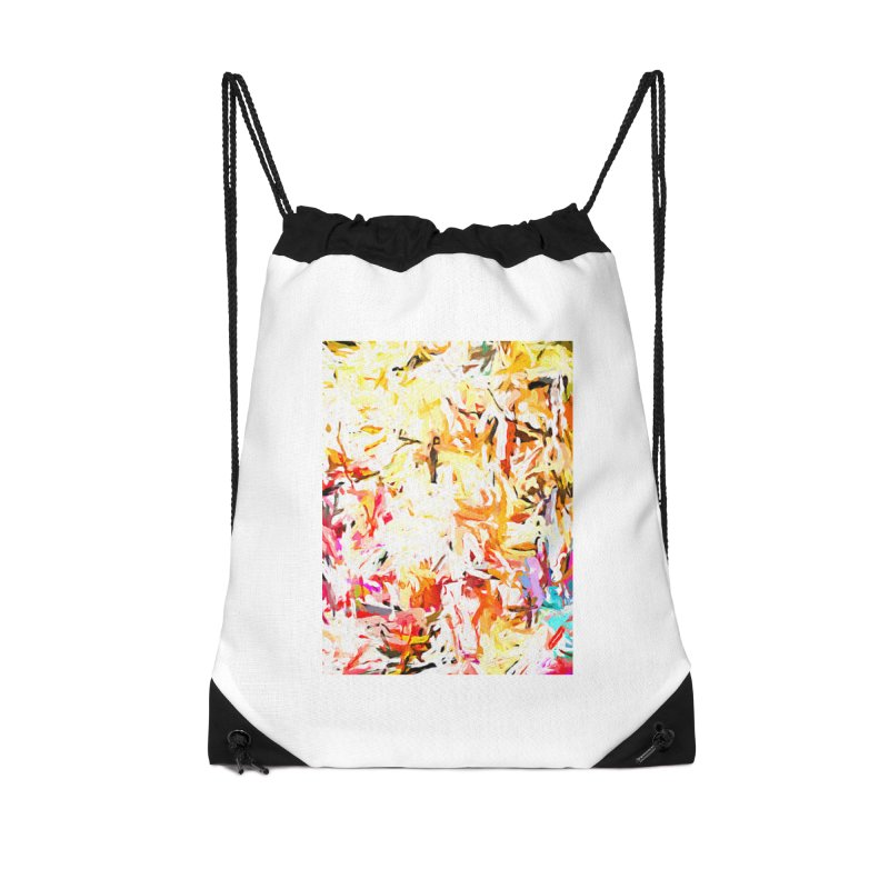 Red Lipstick on the Dance Floor JVO2019 Accessories Drawstring Bag Bag by jackievano's Artist Shop