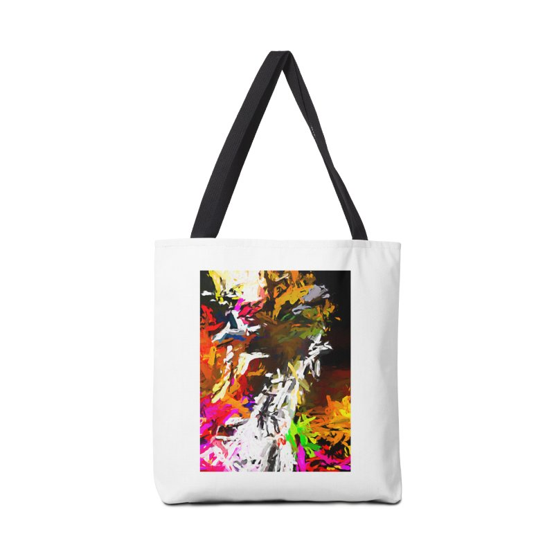 White Ship on the Stormy Seas JVO2019 Accessories Tote Bag Bag by jackievano's Artist Shop