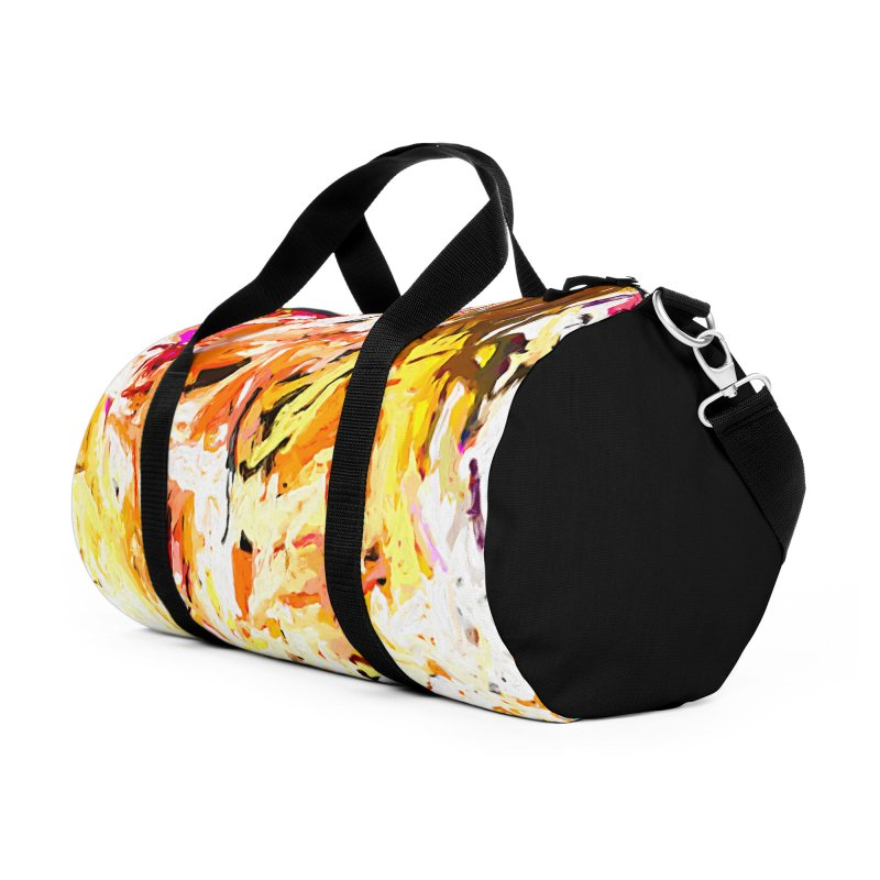Variation on a Theme of Vanilla Ice Cream JVO2019 Accessories Duffel Bag Bag by jackievano's Artist Shop