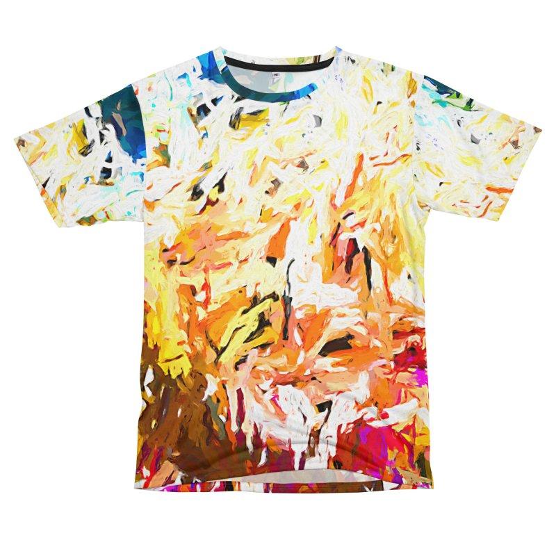 Variation on a Theme of Vanilla Ice Cream JVO2019 Men's T-Shirt Cut & Sew by jackievano's Artist Shop