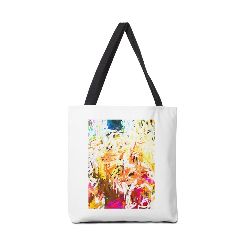 Variation on a Theme of Vanilla Ice Cream JVO2019 Accessories Tote Bag Bag by jackievano's Artist Shop