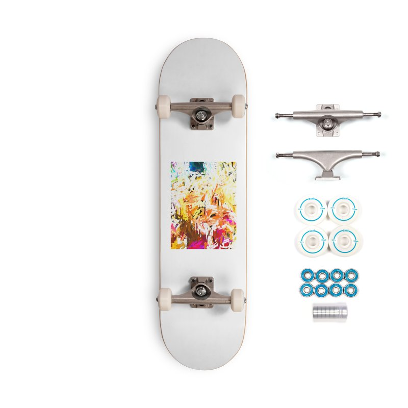 Variation on a Theme of Vanilla Ice Cream JVO2019 Accessories Complete - Basic Skateboard by jackievano's Artist Shop