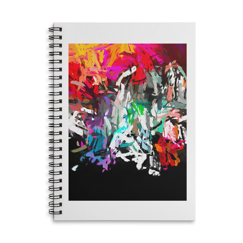 Turmoil and Torment of the Heartless Heatwave 3 JVO2019 Accessories Lined Spiral Notebook by jackievano's Artist Shop
