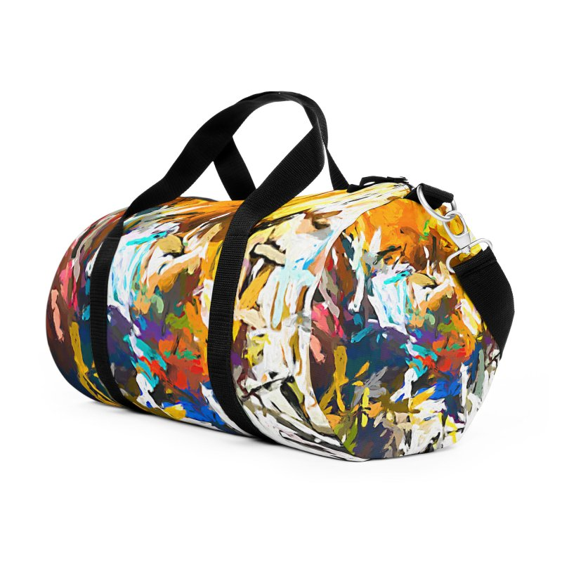 Madam and the Eye JVO2019 Accessories Duffel Bag Bag by jackievano's Artist Shop