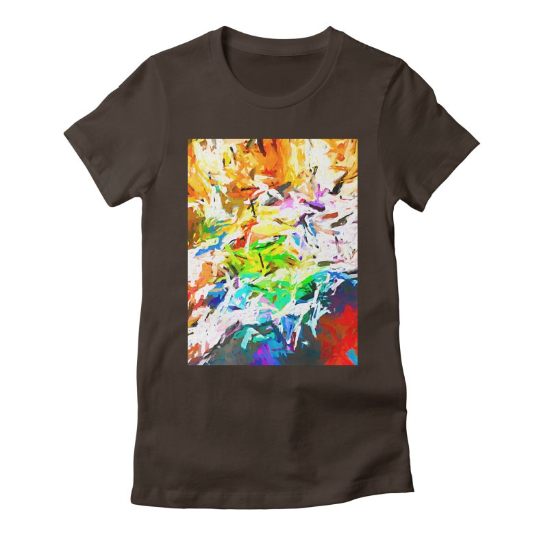 Green Curry and the Salty Rice JVO2019 Women's Fitted T-Shirt by jackievano's Artist Shop