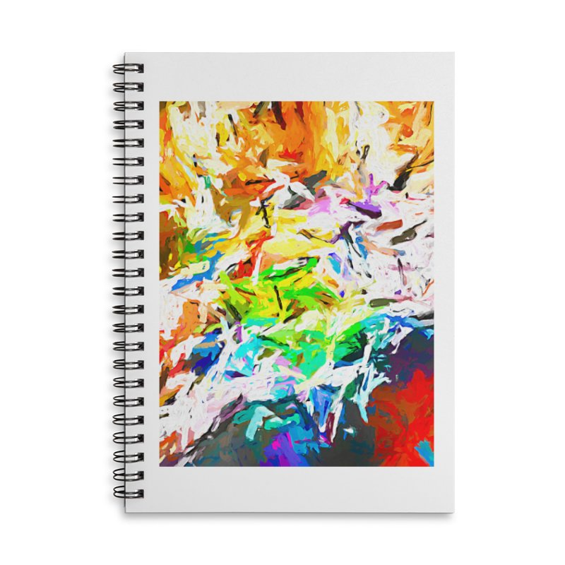 Green Curry and the Salty Rice JVO2019 Accessories Lined Spiral Notebook by jackievano's Artist Shop