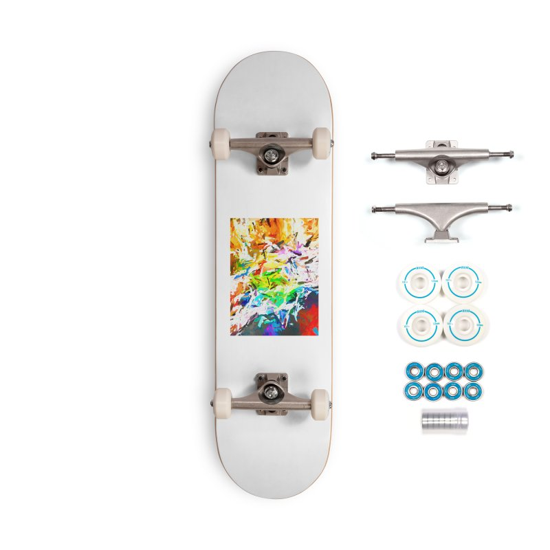 Green Curry and the Salty Rice JVO2019 Accessories Complete - Basic Skateboard by jackievano's Artist Shop