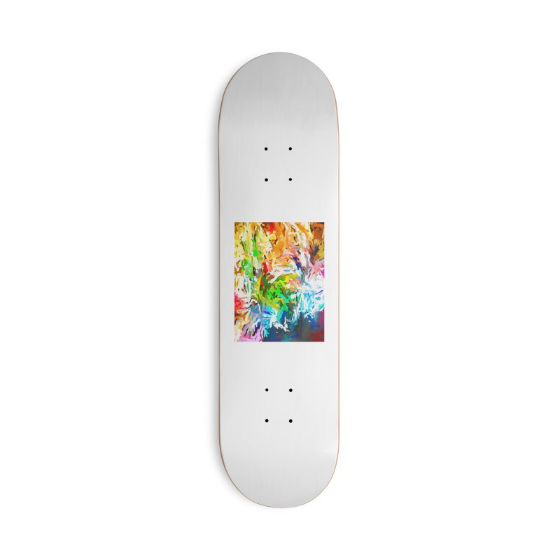Green Curry Climbs up the Wall JVO2019 Accessories Deck Only Skateboard by jackievano's Artist Shop