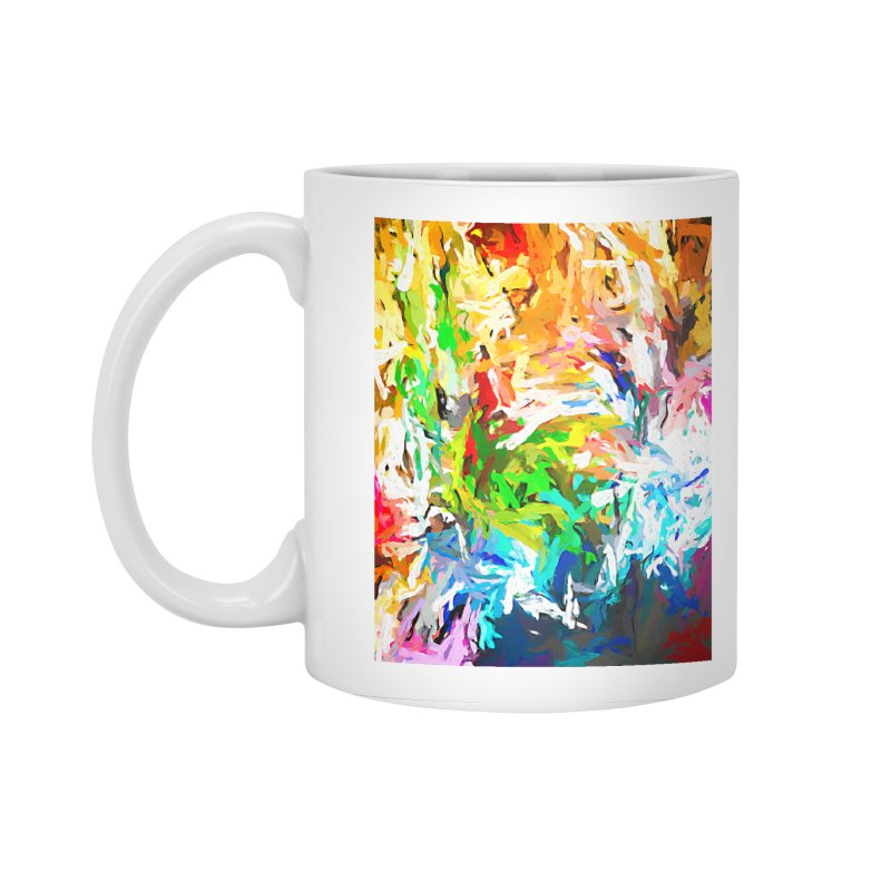 Green Curry Climbs up the Wall JVO2019 Accessories Standard Mug by jackievano's Artist Shop