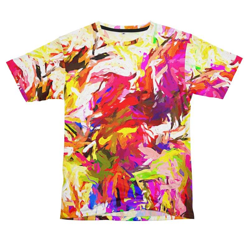 Totem Pink Duck Dog JVO2019 Men's T-Shirt Cut & Sew by jackievano's Artist Shop