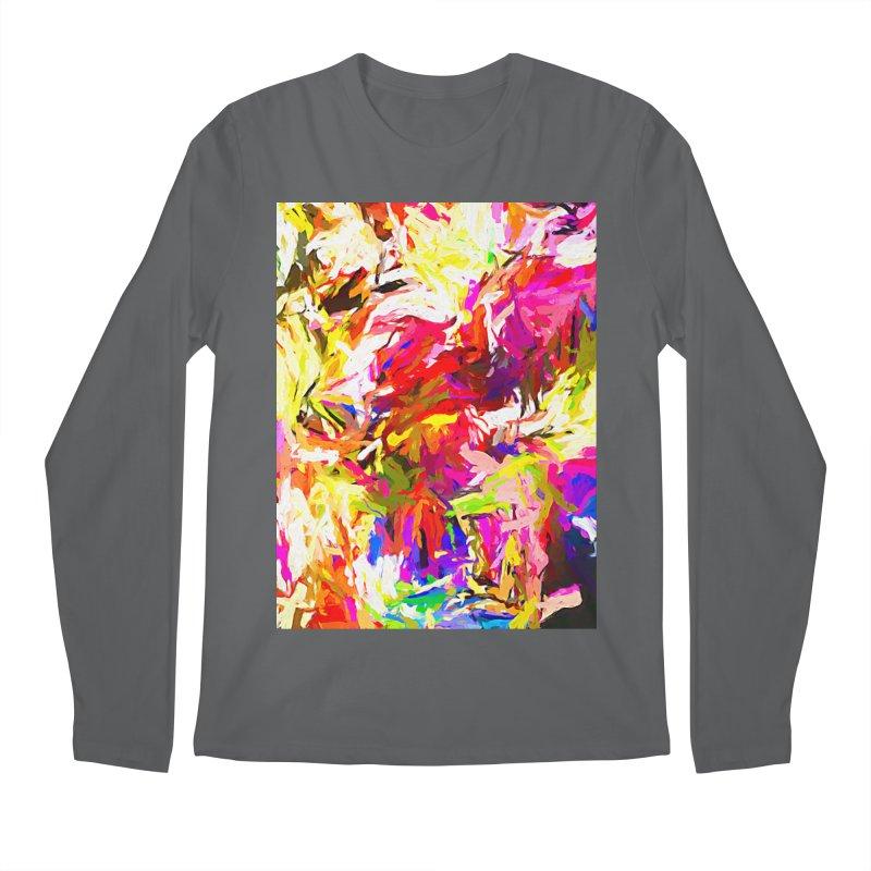 Totem Pink Duck Dog JVO2019 Men's Regular Longsleeve T-Shirt by jackievano's Artist Shop