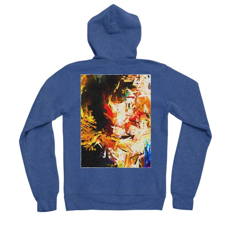 Triangle Soul JVO2020 Men's Sponge Fleece Zip-Up Hoody by jackievano's Artist Shop