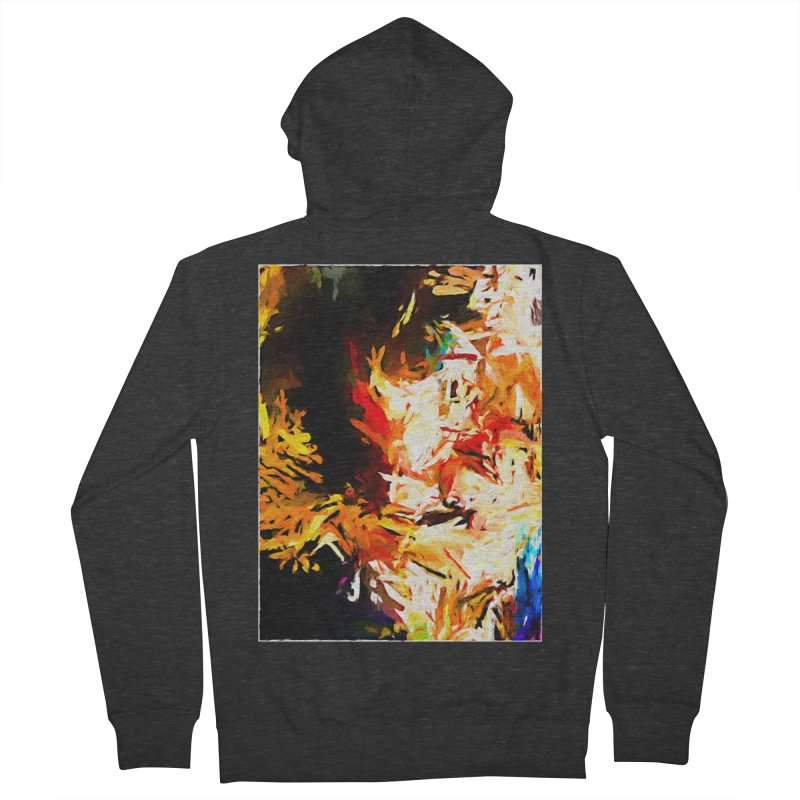 Triangle Soul JVO2020 Women's French Terry Zip-Up Hoody by jackievano's Artist Shop