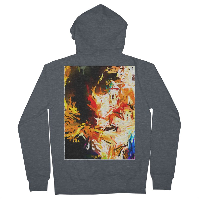 Triangle Soul JVO2020 Men's French Terry Zip-Up Hoody by jackievano's Artist Shop