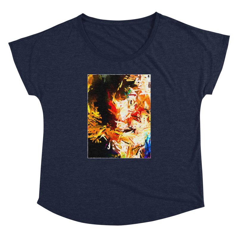 Triangle Soul JVO2020 Women's Dolman Scoop Neck by jackievano's Artist Shop
