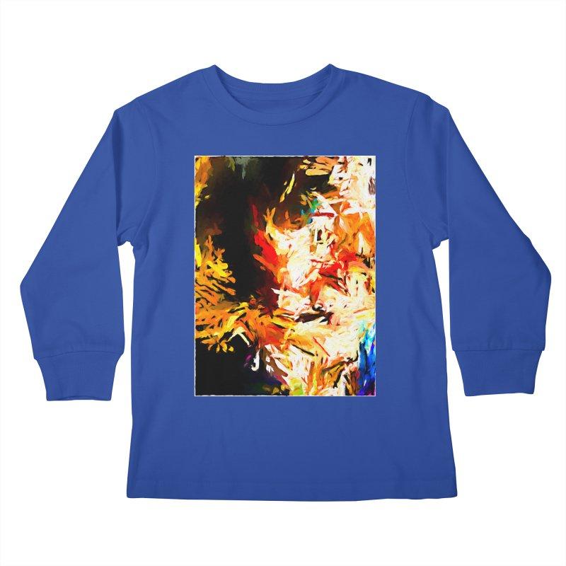 Triangle Soul JVO2020 Kids Longsleeve T-Shirt by jackievano's Artist Shop