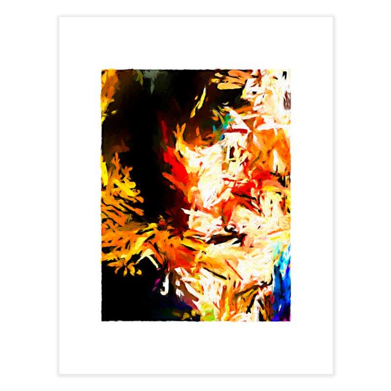 Triangle Soul JVO2020 Home Fine Art Print by jackievano's Artist Shop