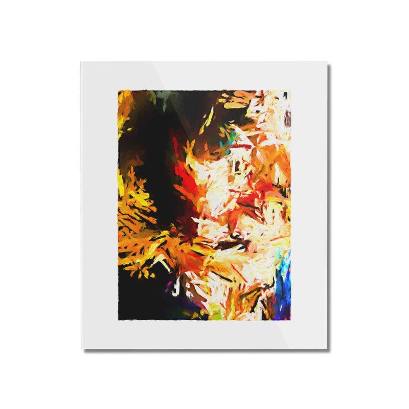 Triangle Soul JVO2020 Home Mounted Acrylic Print by jackievano's Artist Shop