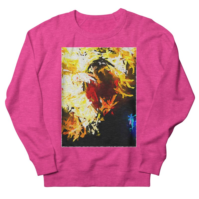 Ever Watching Eye Screams at the World JVO2020 Men's French Terry Sweatshirt by jackievano's Artist Shop