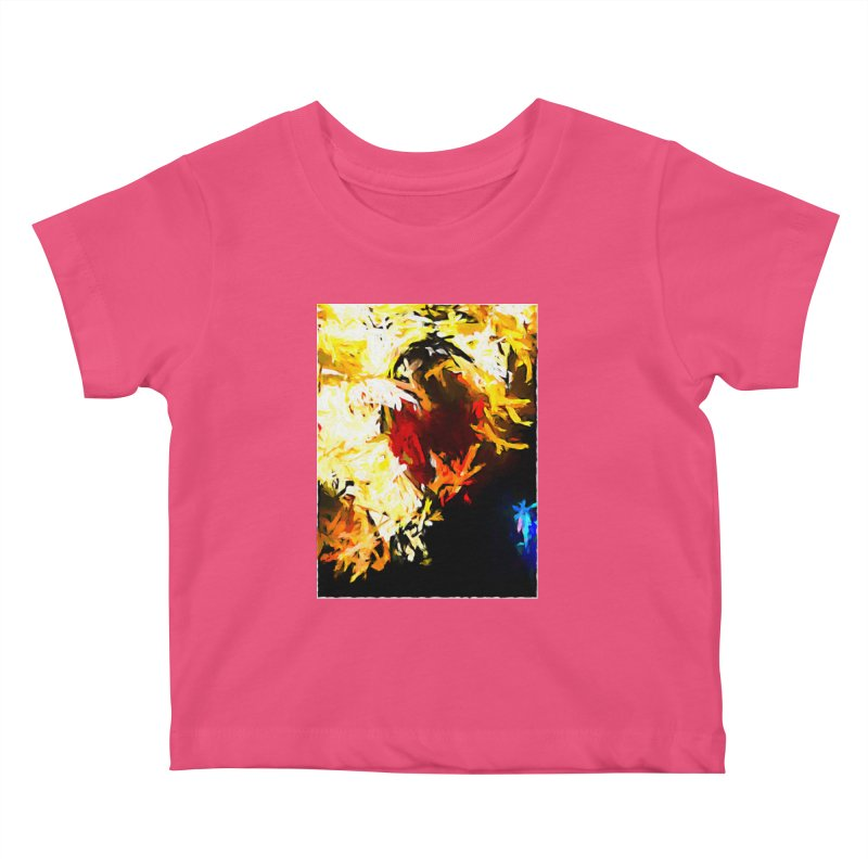 Ever Watching Eye Screams at the World JVO2020 Kids Baby T-Shirt by jackievano's Artist Shop