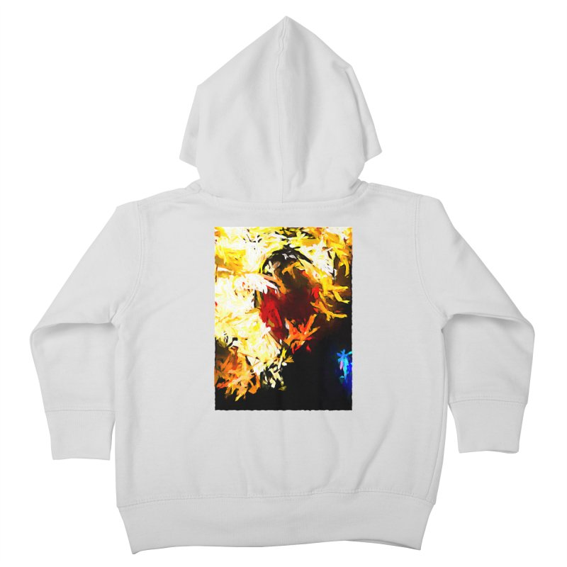 Ever Watching Eye Screams at the World JVO2020 Kids Toddler Zip-Up Hoody by jackievano's Artist Shop