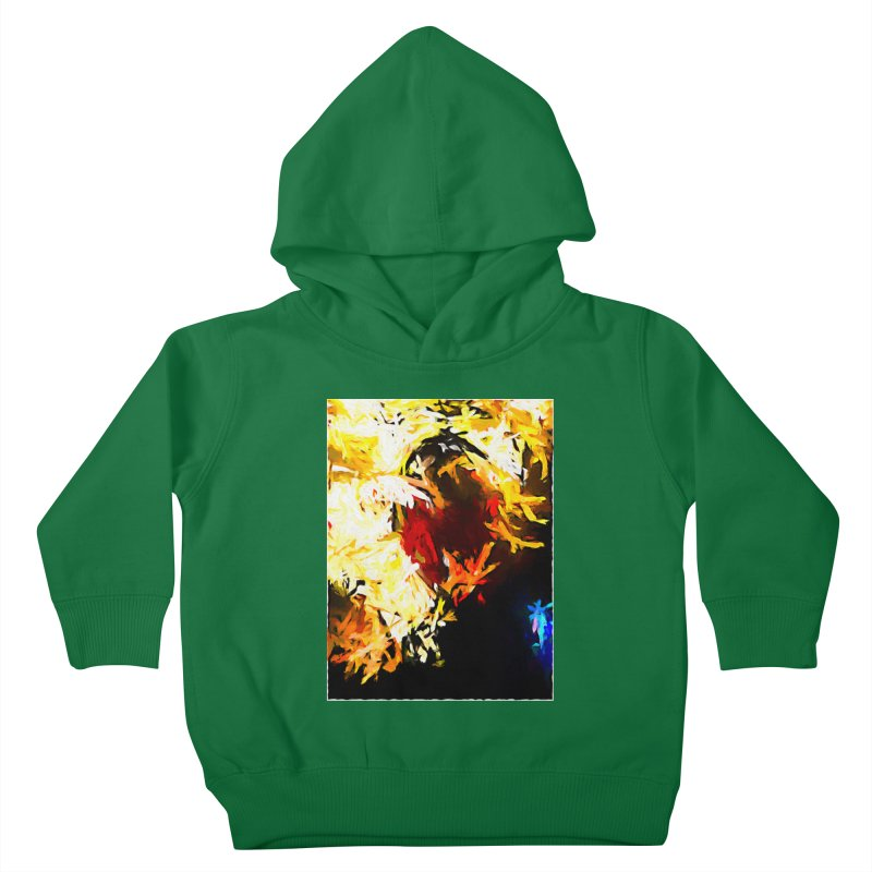 Ever Watching Eye Screams at the World JVO2020 Kids Toddler Pullover Hoody by jackievano's Artist Shop