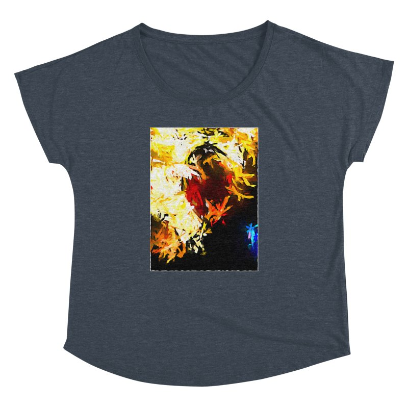 Ever Watching Eye Screams at the World JVO2020 Women's Dolman Scoop Neck by jackievano's Artist Shop