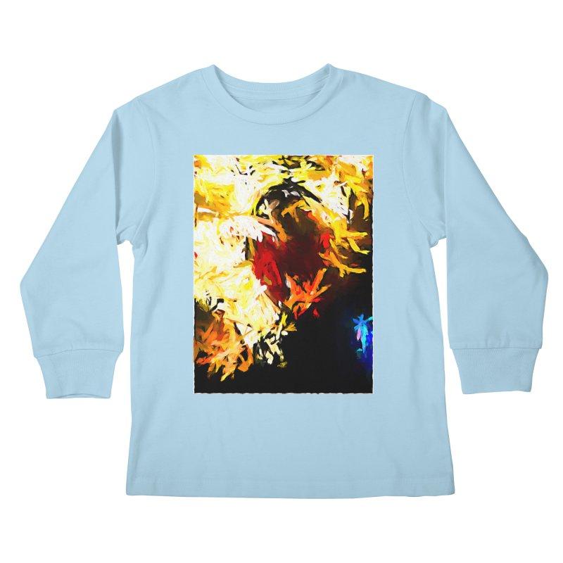 Ever Watching Eye Screams at the World JVO2020 Kids Longsleeve T-Shirt by jackievano's Artist Shop
