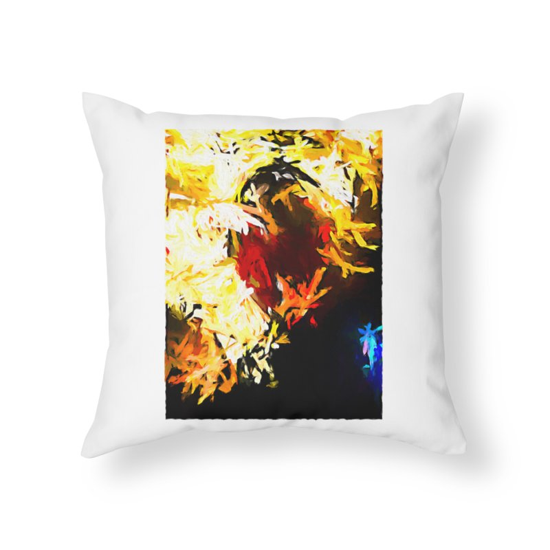 Ever Watching Eye Screams at the World JVO2020 Home Throw Pillow by jackievano's Artist Shop
