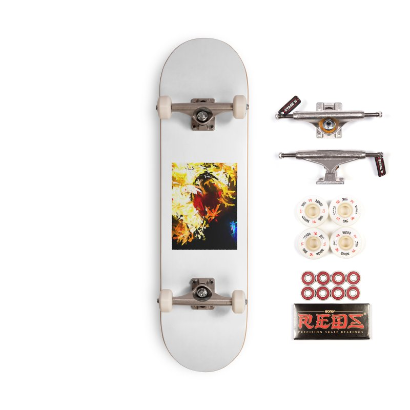 Ever Watching Eye Screams at the World JVO2020 Accessories Complete - Pro Skateboard by jackievano's Artist Shop