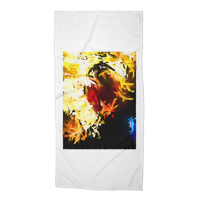 Ever Watching Eye Screams at the World JVO2020 Accessories Beach Towel by jackievano's Artist Shop