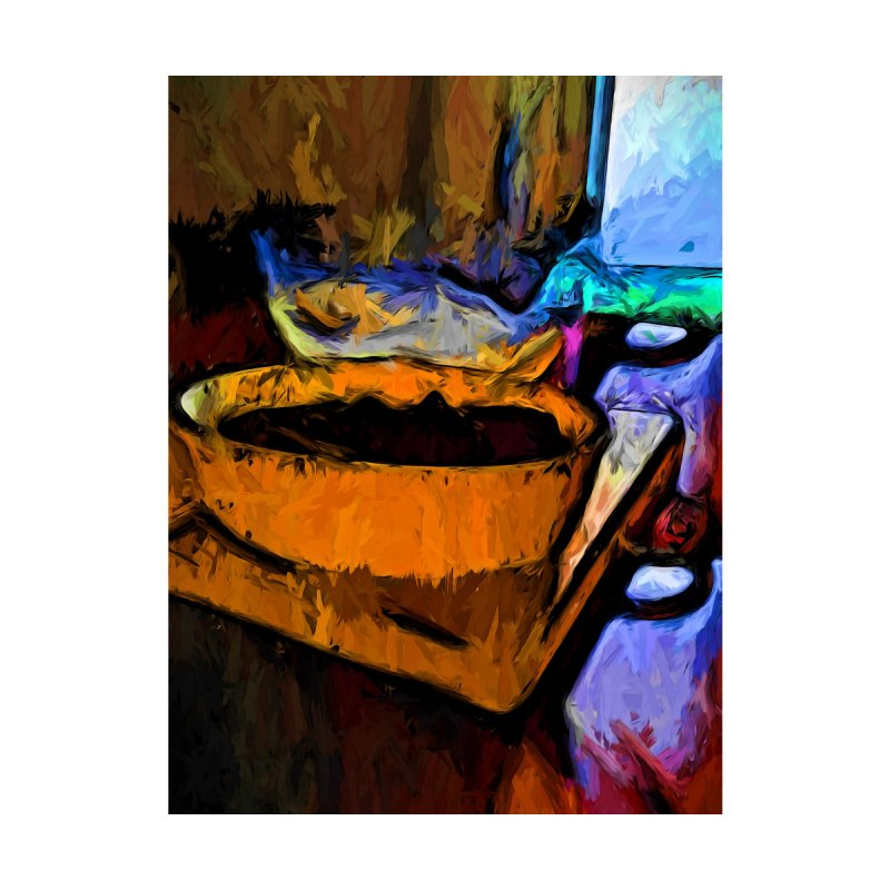 Gold Dish with Chocolate in the Shadow of a Glass Bowl by jackievano's Artist Shop