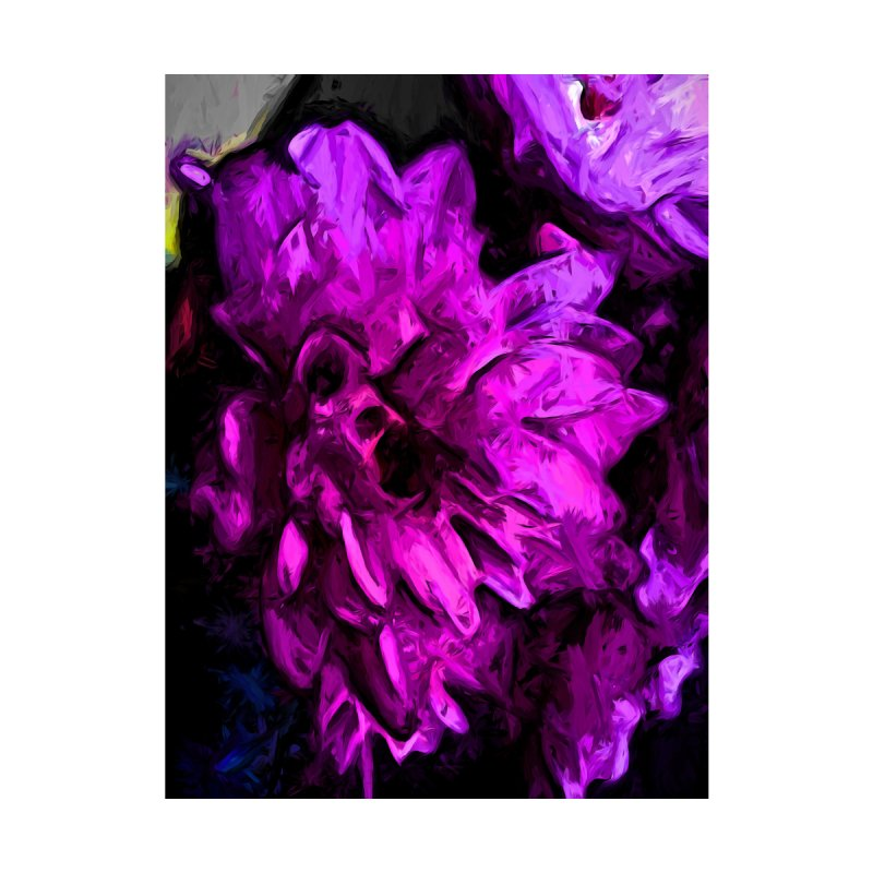 Lavender and Pink Flower by jackievano's Artist Shop