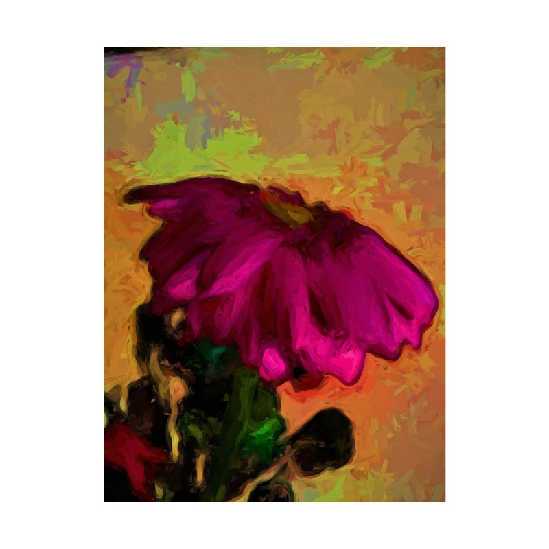 Purple and Pink Flower with some Orange by jackievano's Artist Shop