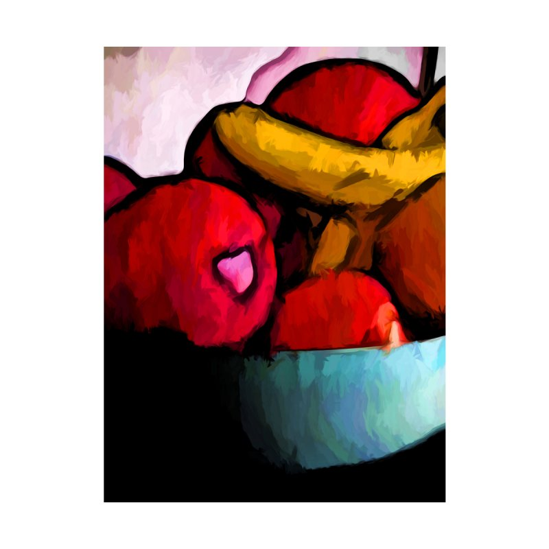 Still Life of Red Apples and Yellow Bananas by jackievano's Artist Shop