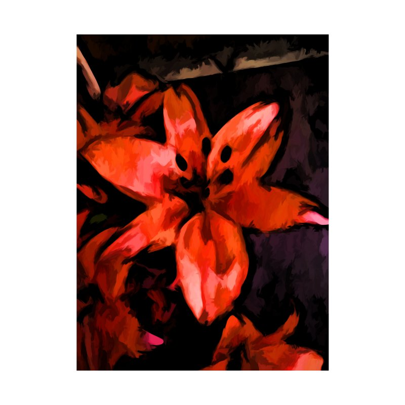 Orange Lily with some Black by jackievano's Artist Shop