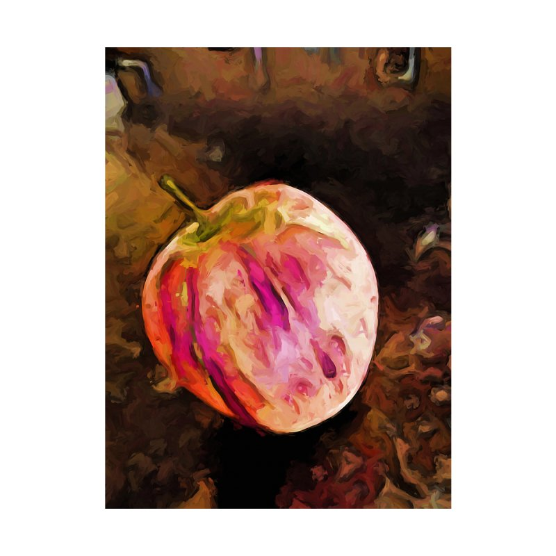 Pink and Orange Apple by jackievano's Artist Shop