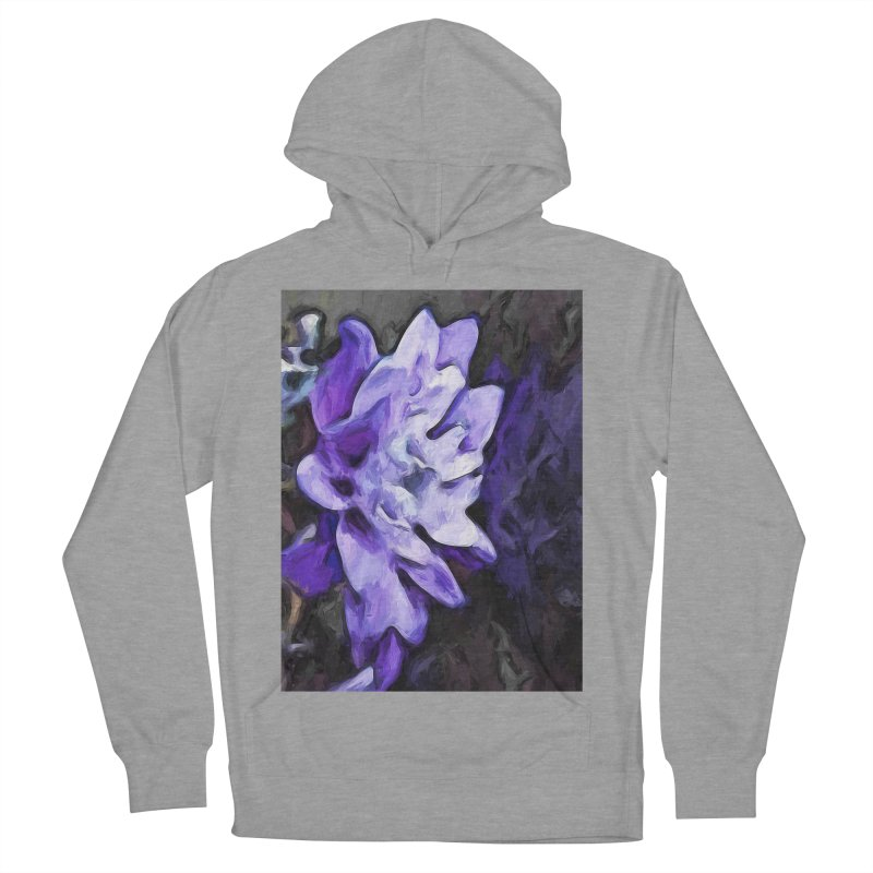 Purple Flower and Reflection Women's Pullover Hoody by jackievano's Artist Shop