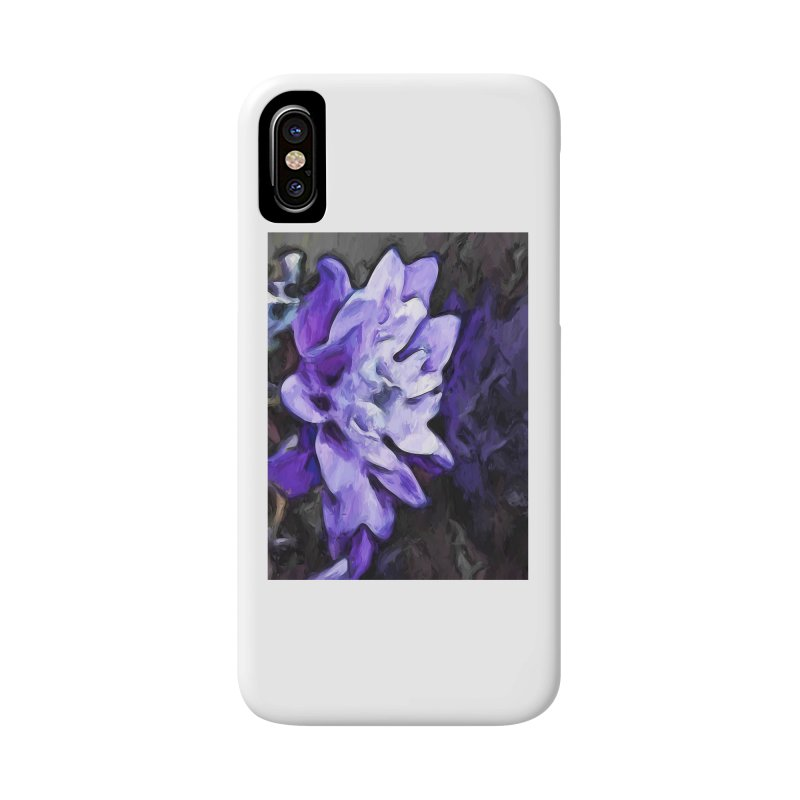 Purple Flower and Reflection Accessories Phone Case by jackievano's Artist Shop