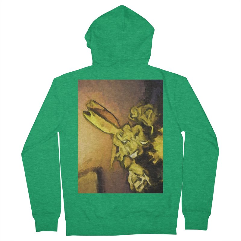 Yellow Flowers and White Roses 1 Women's Zip-Up Hoody by jackievano's Artist Shop