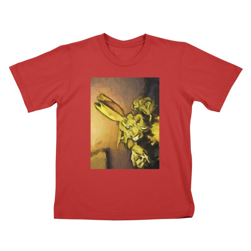 Yellow Flowers and White Roses 1 Kids T-Shirt by jackievano's Artist Shop
