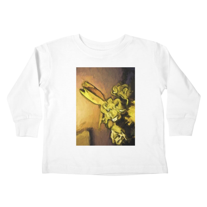 Yellow Flowers and White Roses 1 Kids Toddler Longsleeve T-Shirt by jackievano's Artist Shop