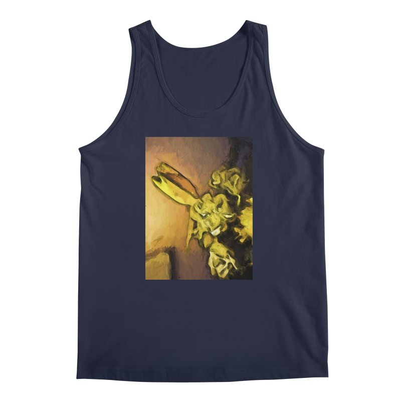 Yellow Flowers and White Roses 1 Men's Tank by jackievano's Artist Shop