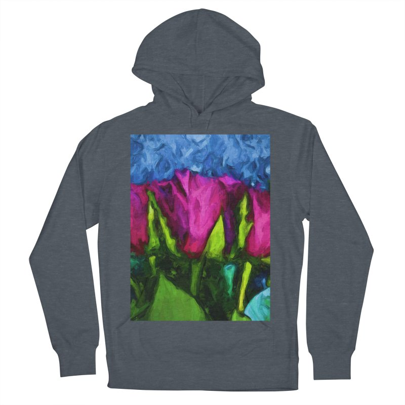 Lovers' Roses 1 Women's Pullover Hoody by jackievano's Artist Shop