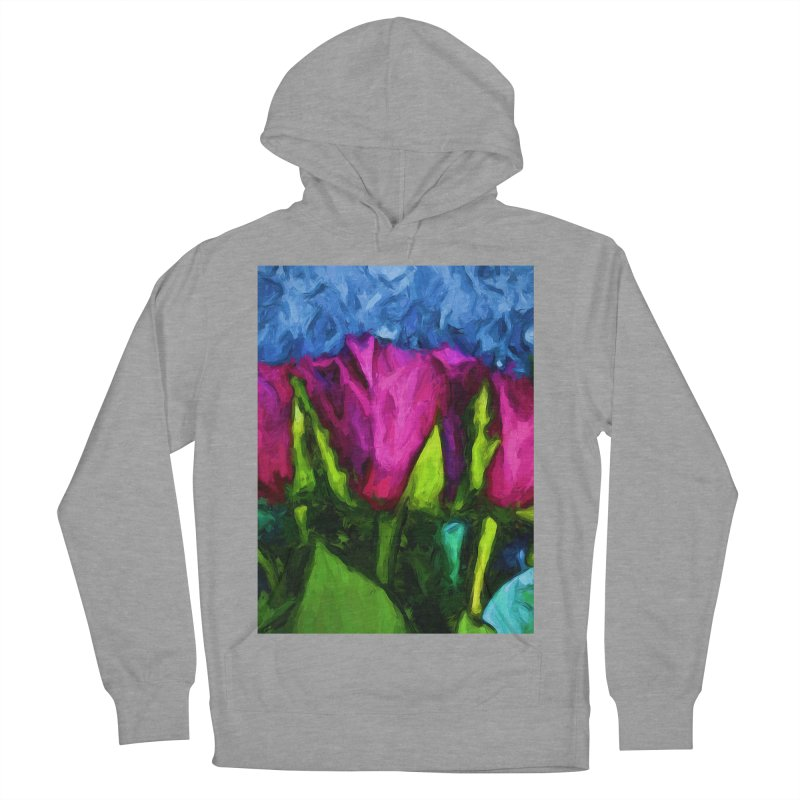 Lovers' Roses 1 Men's Pullover Hoody by jackievano's Artist Shop