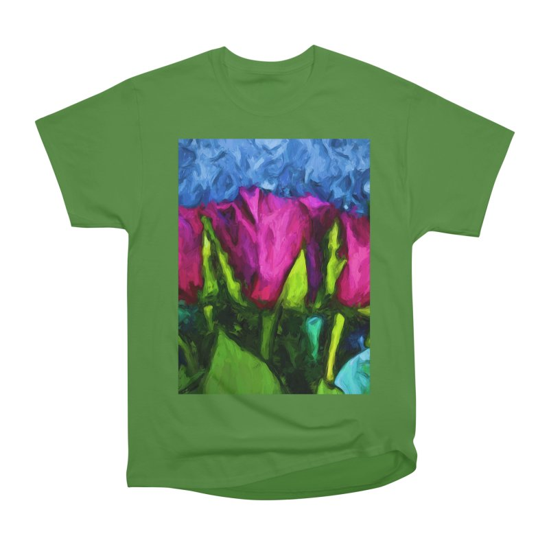 Lovers' Roses 1 Men's Classic T-Shirt by jackievano's Artist Shop