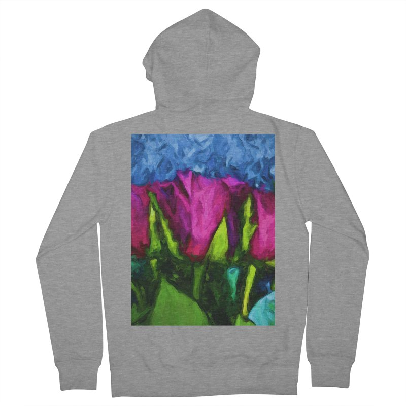 Lovers' Roses 1 Women's Zip-Up Hoody by jackievano's Artist Shop