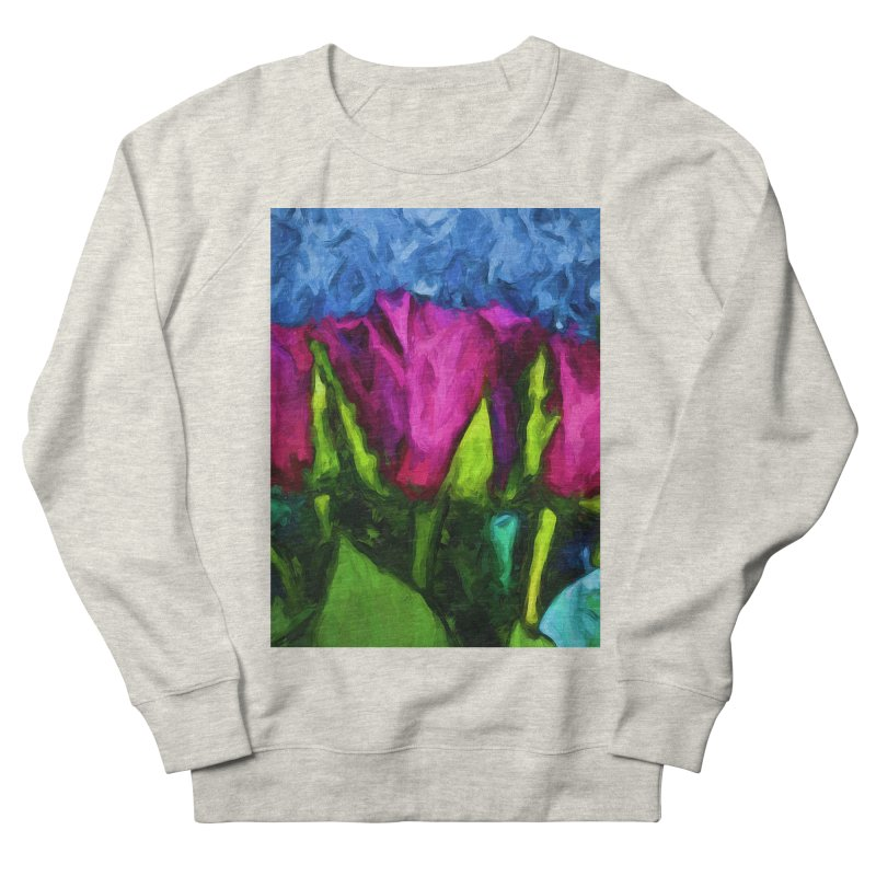 Lovers' Roses 1 Men's Sweatshirt by jackievano's Artist Shop