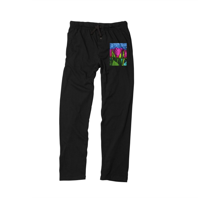 Lovers' Roses 1 Women's Lounge Pants by jackievano's Artist Shop