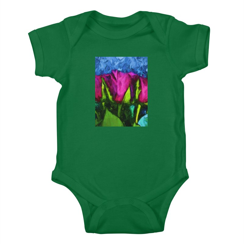 Lovers' Roses 1 Kids Baby Bodysuit by jackievano's Artist Shop